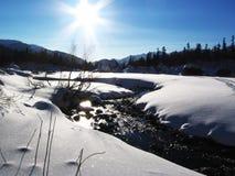 Winter sun Royalty Free Stock Photos