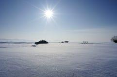 Winter sun Royalty Free Stock Photography