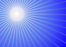 Winter sun. The cold winter sun background (vector, illustration stock illustration