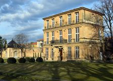 Pavillon Vendome, Aix-en-Provence, France stock image