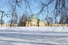 Winter sunny park. Russia Stock Photography
