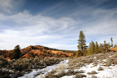 Winter at Sunrise Point - Bryce Canyon NP Stock Photos