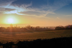 Winter Sunrise .