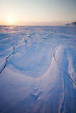Winter Sunset Landscape Royalty Free Stock Image