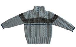 Winter sweater. On white background Stock Photo