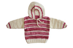 Winter sweater. On white background-2 Stock Photography