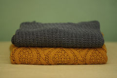 Winter sweaters Royalty Free Stock Photo
