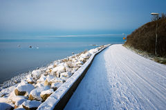 Winter in Sweden Stock Photography