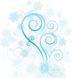 Winter swirl Royalty Free Stock Images