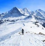 The winter in Switzerland Royalty Free Stock Photo
