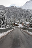 Winter-Szene, Österreich Lizenzfreie Stockfotografie