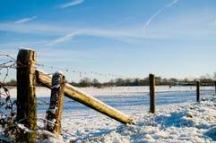 Winter szenisch stockfoto