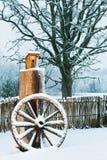 Winter szenisch lizenzfreies stockbild