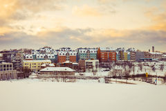 Winter Tallinn Royalty Free Stock Image