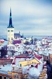 Winter Tallinn Stock Photos