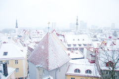 Winter Tallinn Stock Photography