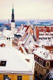 Winter Tallinn Royalty Free Stock Image