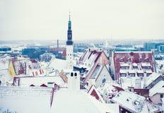 Winter Tallinn Stock Image