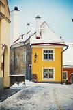 Winter Tallinn Royalty Free Stock Photo
