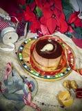 Winter tart Stock Image