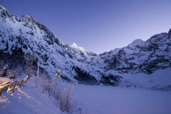 Winter in Tatra mountain Stock Photos
