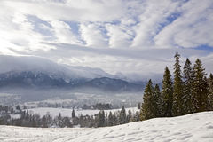Winter in Tatra mountains Stock Photos