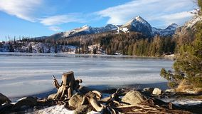 Winter in Tatra mountains Royalty Free Stock Images