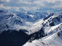 Winter in Tatra Mountains Royalty Free Stock Photos