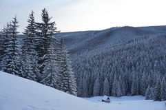 Winter in Tatra mountains Royalty Free Stock Photography