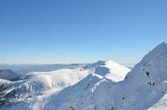 Winter Tatra Mountains in Slovakia. 2014 Stock Photography