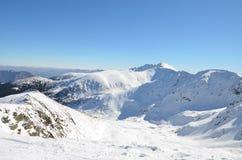 Winter Tatra Mountains in Slovakia. 2014 Royalty Free Stock Photo