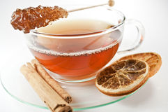Winter tea Royalty Free Stock Photography
