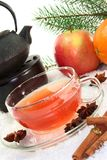Winter tea Stock Images