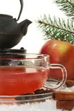 Winter tea Royalty Free Stock Image