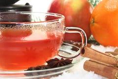 Winter tea Royalty Free Stock Image
