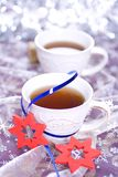 Winter tea Stock Photos
