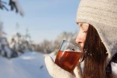 Winter tea Stock Photos