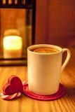 Winter tea on wooden background Stock Image