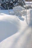 Winter-Tee Stockfotos