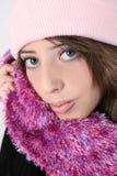 Winter Teen Royalty Free Stock Photos