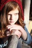 Winter Teen Royalty Free Stock Photo