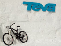 Winter TEVA Mointain Games Stock Photography