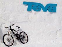 Winter TEVA Mointain Games Stock Images