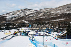 Winter Teva Mountain Games Stock Photos