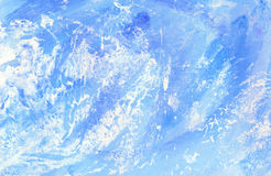 Winter texture. Illustration. Abstract winter background. Drawing Stock Photography