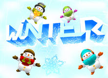 Winter Theme Stock Images