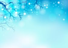 Winter theme background 2 Stock Photos