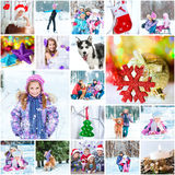 A winter theme Royalty Free Stock Image