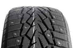 Winter thorn tire Royalty Free Stock Photography