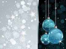 Winter time background vector illustration